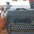 Vintage Typewriter by Linda L  Brobeck