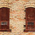 Vintage Urban Brick Building - Salt Lake City by Gary Whitton