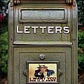 Vintage Us Mailbox II by Lee Dos Santos