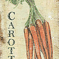 Vintage Vegetables 4 by Debbie DeWitt
