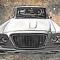 Vintage Vehicle by Judy Hall-Folde