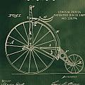 Vintage Velocipede Patent by Dan Sproul