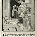 Vintage Victorian Soap Advert by Georgia Fowler