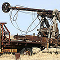 Vintage Water Well Drilling Truck by Jack Pumphrey