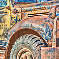 Vintage Welding Truck by Steven Bateson