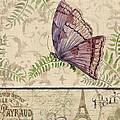 Vintage Wings-paris-i by Jean Plout