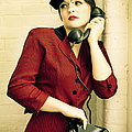 Vintage Woman by Diane Diederich