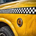 Vintage Yellow Cab by John Farnan