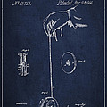 Vintage Yoyo Patent Drawing From 1866 by Aged Pixel