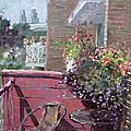 Viola's Balcony by Ylli Haruni