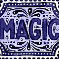 Violet Magic  by Nada Meeks