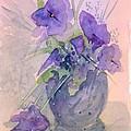 Violets by Christina Rahm Galanis