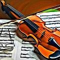 Violin by Carlos Diaz