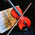 Violin Impression Redux by Kristin Elmquist