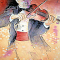 Violin Man by JAXINE Cummins