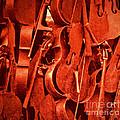 Violin Sculpture  by Kathleen K Parker