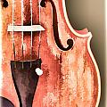 Violin Viola Body Painting In A Photograph 3266.02 by M K Miller
