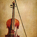 Violin With Bow by Emily Kay