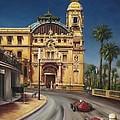 Virage De Massenet - 1959 Grand Prix De Monaco by Gulay Berryman