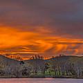Virga At Sunrise by Marc Crumpler