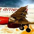 Virgin America A320 by Aaron Berg