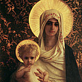 Virgin And Child by Antoine Auguste Ernest Herbert