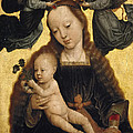 Virgin And Child With Angels by Gerard David