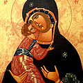 Virgin Of Vladimir by Joseph Malham