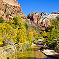 Virgin River - Zion by Jon Berghoff