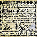 Virginia Banknote, 1781 by Granger