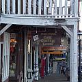 Virginia City Sidewalk  by Brent Dolliver