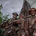 Virginia Memorial At Gettysburg by Pat Scanlon