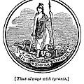 Virginia State Seal by Granger