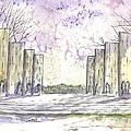Virginia Tech War Memorial by Patrick Grills