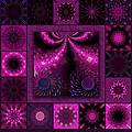 Virulent Lightwaves Redux  by Ann Stretton