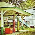 Visible Gas Pumps by Jean Goodwin Brooks