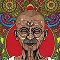 Visionary Gandhi by Daniel Ramirez