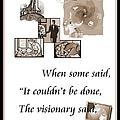 Visionary Says by Bobbee Rickard