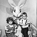Visiting The Easter Bunny by Underwood Archives