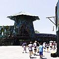 Visitors Heading Towards The Waterworld Attraction At Universal Studios by Ashish Agarwal