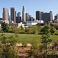 Vista Hermosa Park Los Angeles California by Bill Cobb