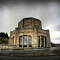Vista House At Crown Point - Oregon by Daniel Hagerman