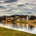 Vistula River In Cracow by Pati Photography