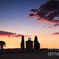 Vitaleta Chapel - Tuscany - Italy by Matteo Colombo