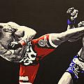 Vitor Belfort Kick by Geo Thomson