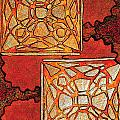 Vitrales II From The Frank Lloyd Wright A Mano Series by Chary Castro-Marin
