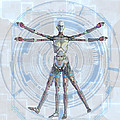 Vitruvian Man 3000 by Frederico Borges