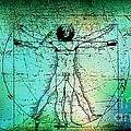 Vitruvian Man by Marvin Blaine