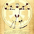 Vitruvian Stormtrooper Ghost by Helge