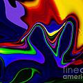 Vivacity  - Abstract  by Gerlinde Keating - Galleria GK Keating Associates Inc